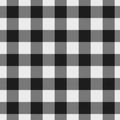 White and Black Plaid Fabric Background — Stock Photo