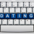 Foto de Stock  : Finding love online