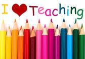 I Love Teaching — Stock Photo