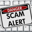 Scam Alert — Stock Photo