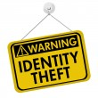 Warning of Identity Theft — Stock Photo #28476831