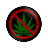 Stopping using Marijuana — Stock Photo