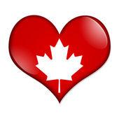 カナダを愛する — ストック写真