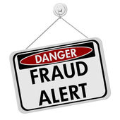 Danger Fraud Alert — Stock Photo