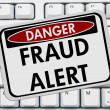 Fraud Alert — Stock Photo #28868781