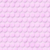 Pink Circle Fabric Background — Stock Photo