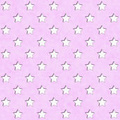 Pink and White Star Fabric Background — Stock Photo