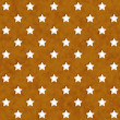 Stock Photo: Gold and White Star Fabric Background