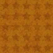 Golden Star Fabric Background — Stock Photo