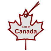 Made in Canada — Stockfoto