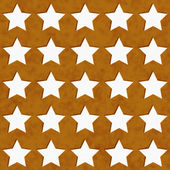 Gold and White Star Fabric Background — Stock Photo