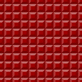 Red Square Fabric Background — Stock Photo