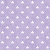 Purple and White Stars and Stripes Fabric Background — Stock Photo
