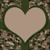 I Heart Service People Background — Stock Photo