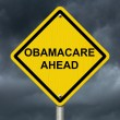 Warning about Obamacare — Stock Photo #30466099