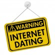 Warning about Internet Dating — Stock Photo #30739381