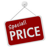 Special Price Sign — Stock Photo