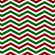 Red and Green Zigzag Pattern Background — Stock Photo