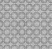 Gray Interlaced Squares Textured Fabric Background — Stock Photo