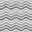Gray Zigzag Textured Fabric Background — Stock Photo
