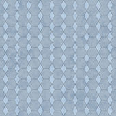 Blue Honey Comb Shape Fabric Background — Stock Photo