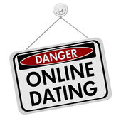 オンラインの出会いの危険性 — ストック写真