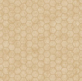 Ecru Honey Comb Shape Fabric Background — Stock Photo