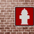 Fire Hydrant here — Stock Photo
