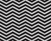 Black and Gray Zigzag Textured Fabric Background — Stock Photo