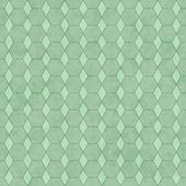 Green Honey Comb Shape Fabric Background — Stock Photo