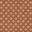 Red Interlaced Squares Textured Fabric Background — ストック写真