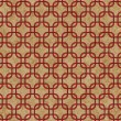 Stock Photo: Red Interlaced Squares Textured Fabric Background