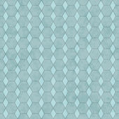 Aqua Honey Comb Shape Fabric Background — Stock Photo
