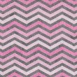 Pink and Gray Zigzag Textured Fabric Background — 图库照片