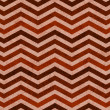 Orange Zigzag Textured Fabric Background — Stock Photo