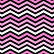 Pink, White and Black Zigzag Pattern Background — ストック写真
