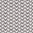 Stock Photo: Gray Interlaced Circles Textured Fabric Background