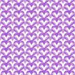 Purple Interlaced Circles Textured Fabric Background — Stock Photo