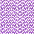 Stock Photo: Purple Interlaced Circles Textured Fabric Background