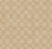Beige Interlaced Squares Textured Fabric Background — Stock Photo