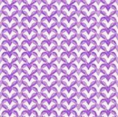 Purple Interlaced Circles Textured Fabric Background — Stock Photo