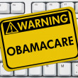 Warning of Obamacare — Stock Photo #34171125