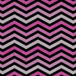 Pink, Gray and Black Zigzag Textured Fabric Background — Stock Photo