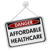 Danger of Affordable Healthcare — Stock Photo