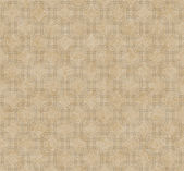 Ecru Interlaced Squares Textured Fabric Background — Stock Photo