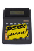 Costs of ObamaCare — Stock Photo