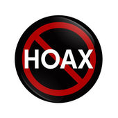 Stopping a Hoax — Stock Photo