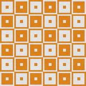 Orange Tapestry Square Textured Fabric Background — Stock Photo
