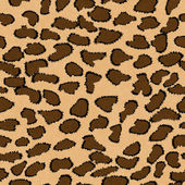 Brown Leopard Print Textured Fabric Background — Stock Photo