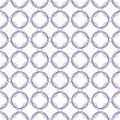 Stock Photo: Purple and White Interlaced Circles Textured Fabric Background